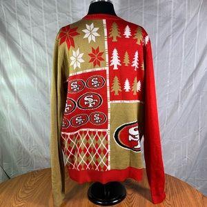 49er Christmas sweater